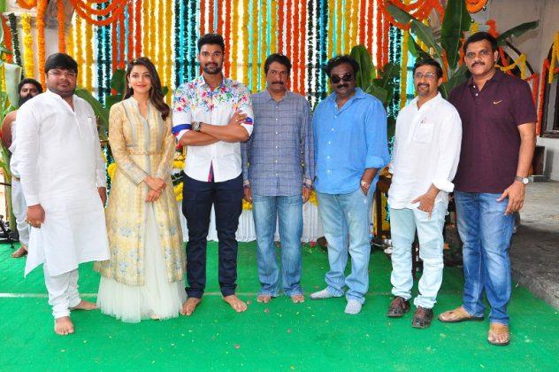 Bellamkonda Kajal Agarwal Teja Movie Launch Photos