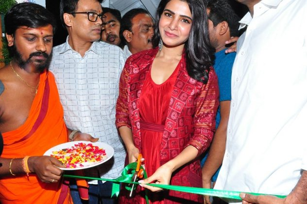 Samantha launches Bahaar Cafe at Punjagutta Photos