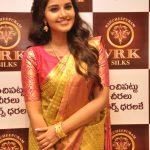 Anupama Parameswaran Inaugurates VRK Silks at Kukatpally