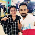 Rashmika Mandanna Dance Rehearsals Stills