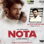 surya to launch nota trailer