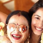 Disha Patani and Rekha Twinkling Stills