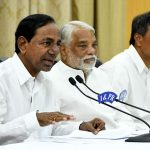 KCR abusive language at Chandrababu in press meet