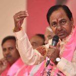 KCR press meet Telangana elections win