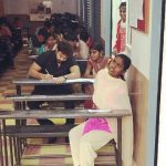 tanish writes exam for specially abled