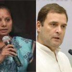 yes Rahul Gandhi is buffoon says Kavitha