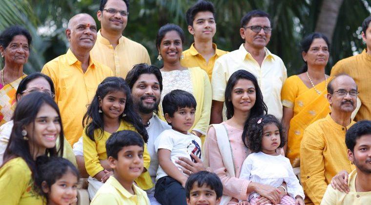 Allu Arjun Sankranthi CelebrationsIMG_7318