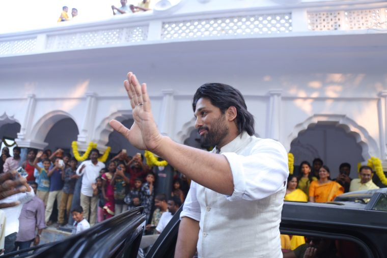 Allu Arjun Sankranthi CelebrationsIMG_7428