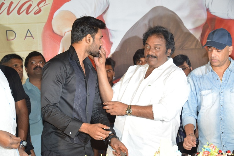 Bellamkonda Sai Sreenivas Brithday Celebritions