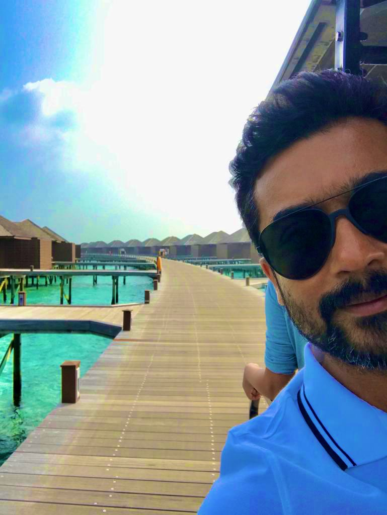 Hero Surya Family Vacation Pics (1)