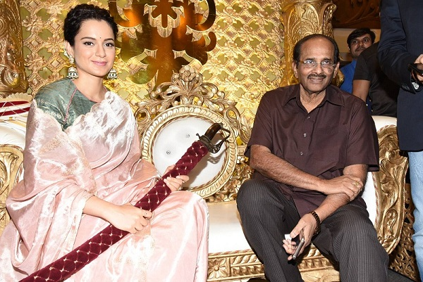 Kangana Ranaut at Manikarnika Telugu Trailer Launch