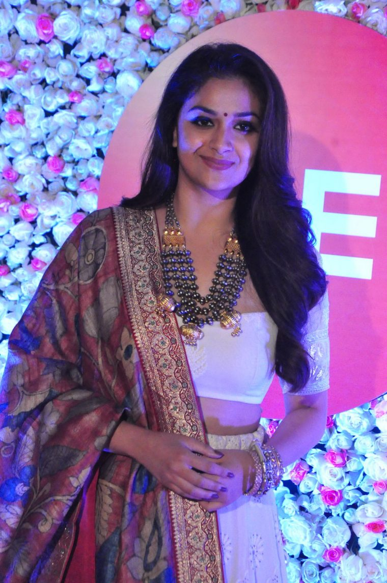 Keerthy Suresh At Zee Cine Awards (3)
