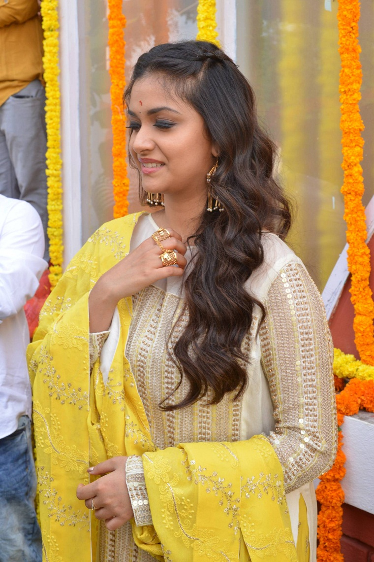 Keerthy Suresh Brighter Than Sunshine Stills