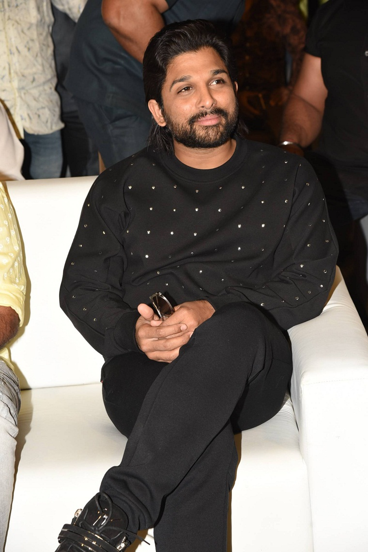 Allu Arjun at lovers day audio launch event