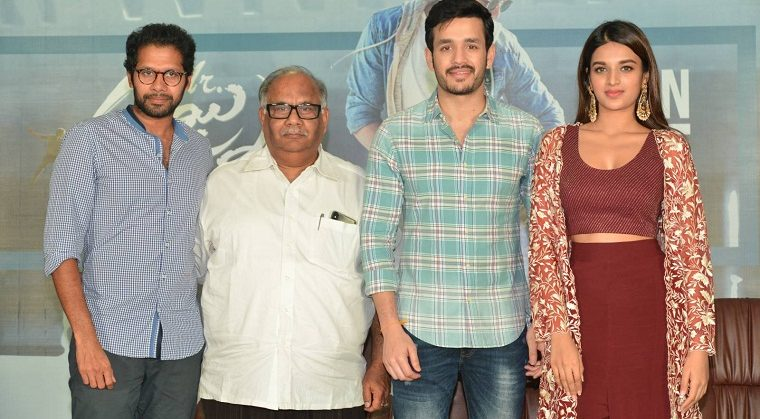Mr.Majnu Pre release Press Meet Photos