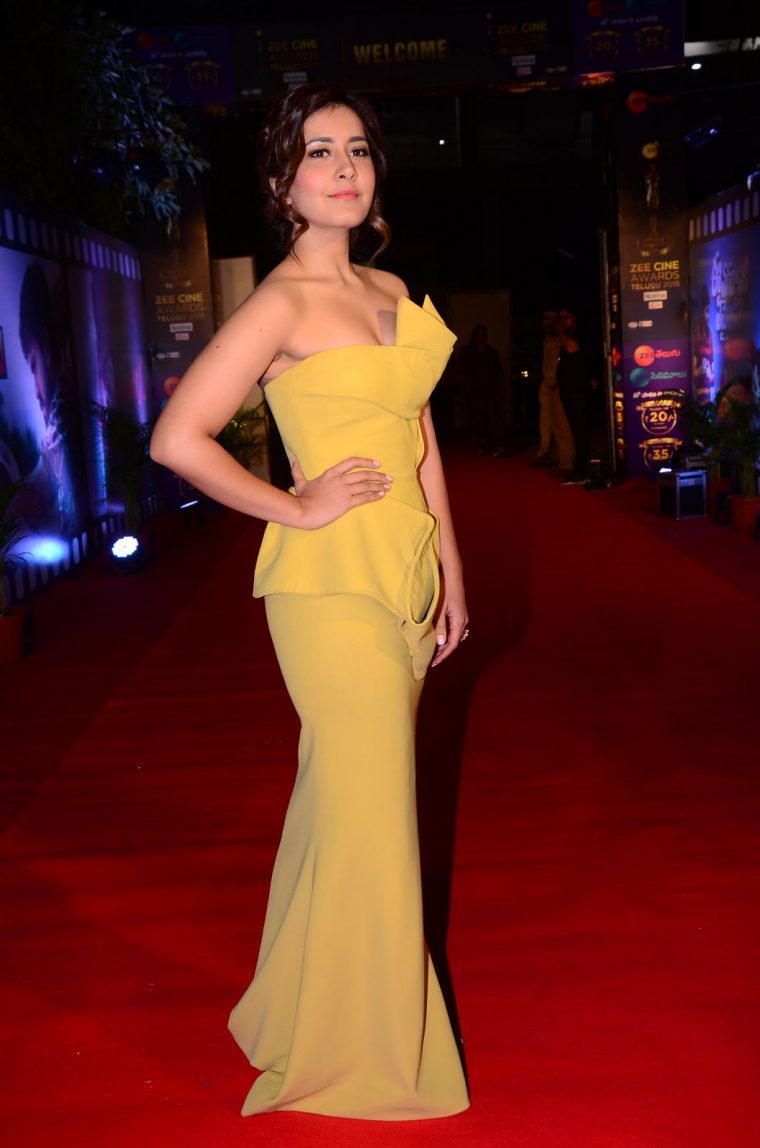 Raashi Khanna At Zee Cine Awards (3)