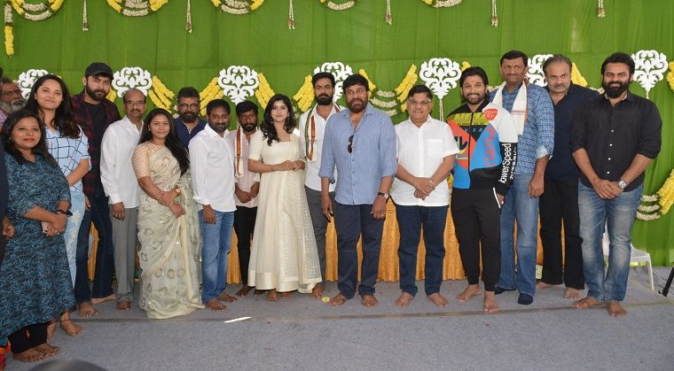 Vaishnav Tej Movie launch Photos