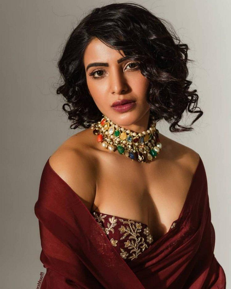 Samantha's Latest Bold Photo Shoot